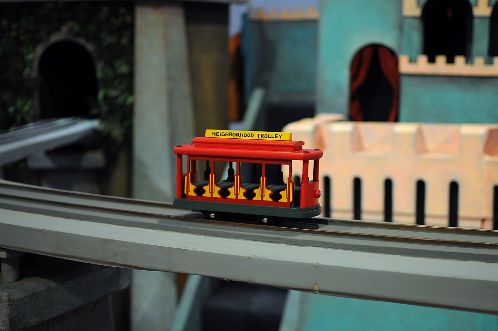 Mr. Rogers Neighborhood Trolley